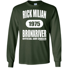RICK MILIAN BRONXRIVER (Rapamania Collection) LS Ultra Cotton T-Shirt