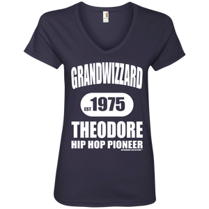 GRANDWIZZARD THEODORE COLLECTION (Rapamania Collection) Ladies' V-Neck T-Shirt