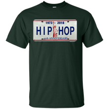 45th HIP HOP ANNIVERSARY LICENSE PLATE(Rapamania Collection) T-Shirt