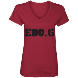EDO. G Ladies' V-Neck T-Shirt