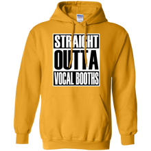 STARIGHT OUTTA VOCAL BOOTHS Pullover Hoodie 8 oz.