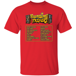 FOUNDING FATHERS gold oz. T-Shirt