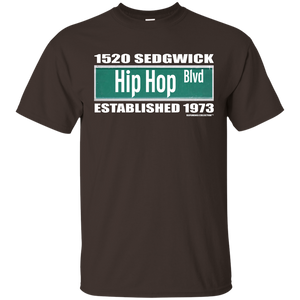 1520 SEDGWICK HIP HOP BLVD (Rapamania Collection) T-Shirt