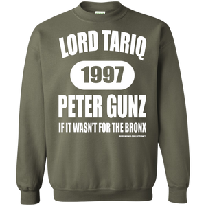 "LORD TARIQ PETER GUNZ ""IF IT WASN'T FOR THE BRONX"" (Rapamania Collection) Hoodie 8 oz."