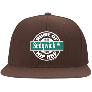 HOME OF HIP HOP SEDGWICK AV (Rapamania Collection) Fitted Cap