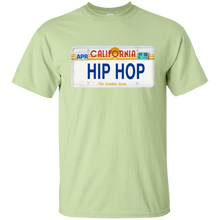 CALIFORNIA HIP HOP LICENSE PLATE VINTAGE T-Shirt