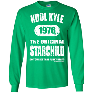 KOOL KYLE THE ORIGINAL STARCHILD 1976 (Rapamania Collection) Long sleeve T-Shirt