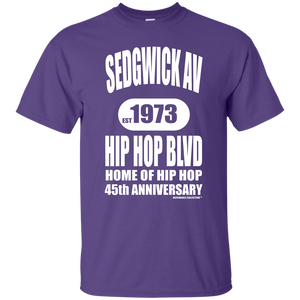 SEDGWICK AV HIP HOP BLVD (Rapamania Collection) T-Shirt