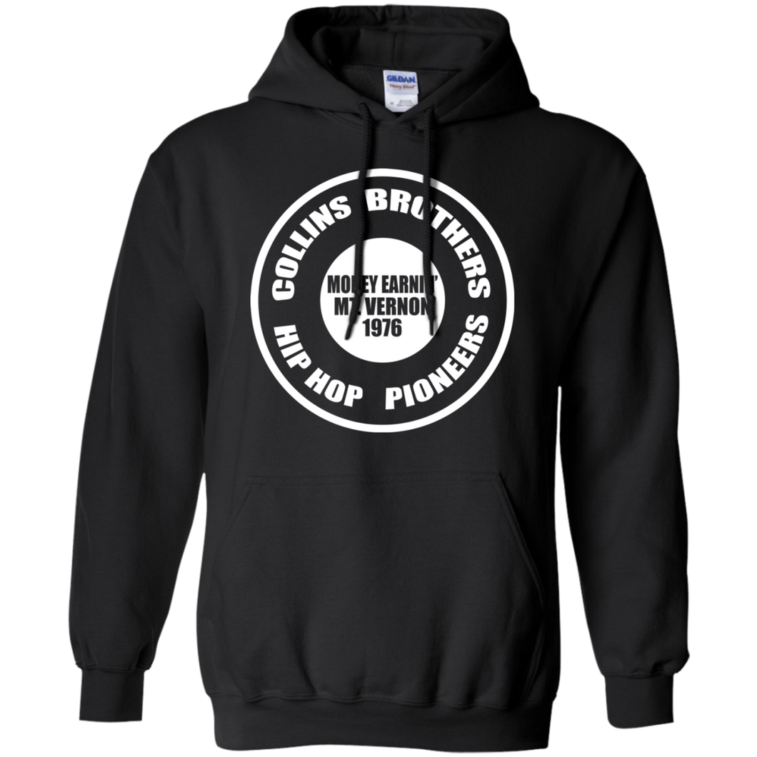 COLLINS BROTHERS (Rapamania collection)  Hoodie 8 oz.