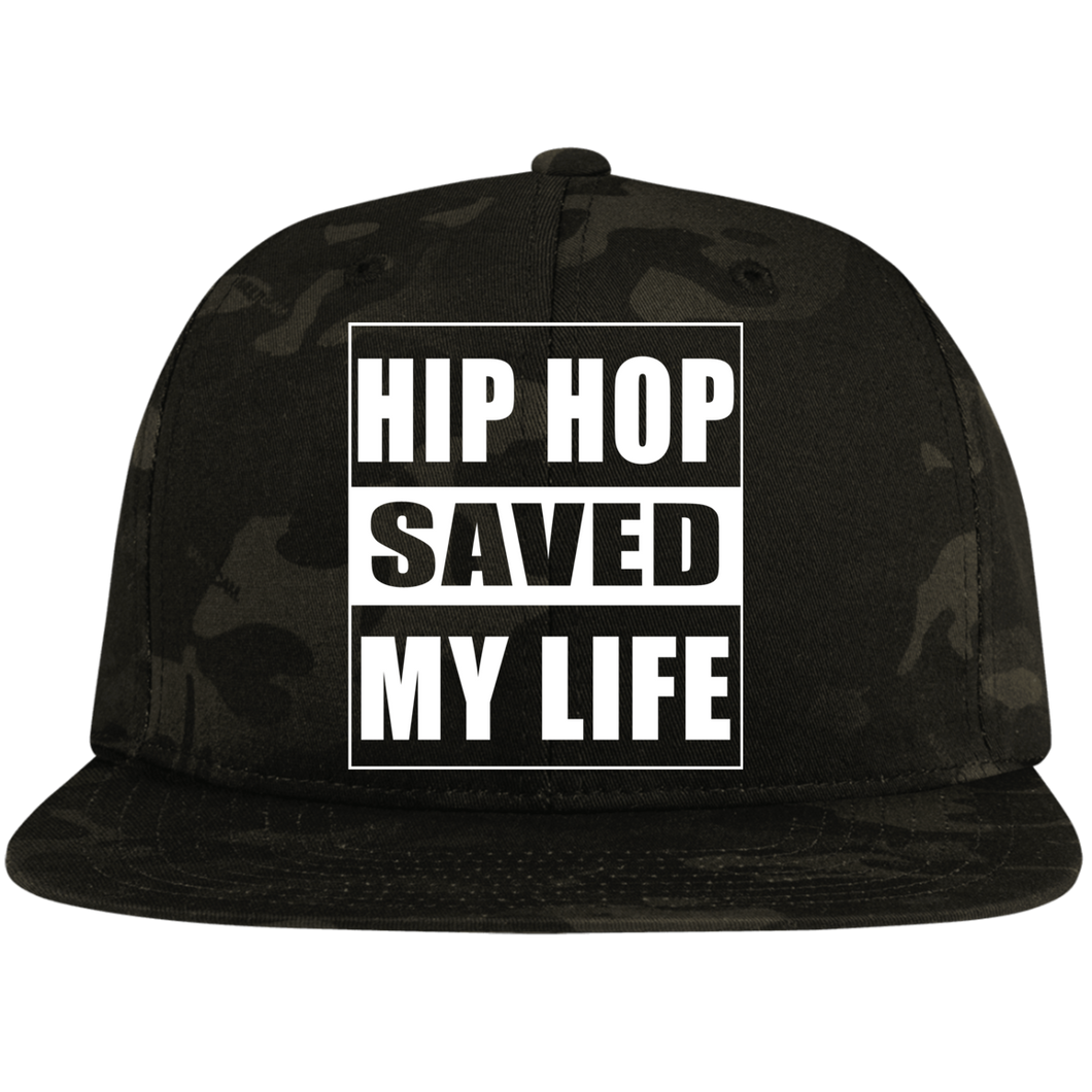 HIP HOP SAVED MY LIFE (Busy Bee Collection) Snapback Hat
