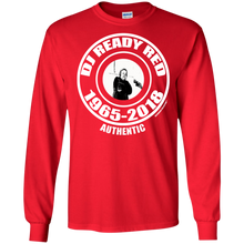 DJ READY RED 1965-2018 AUTHENTIC (Rapamania Collection) T-Shirt Long sleeve T-Shirt