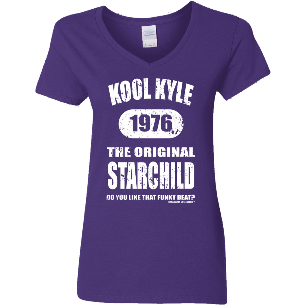 KOOL KYLE THE ORIGINAL STARCHILD 1976 (Rapamania Collection) V-Neck T-Shirt