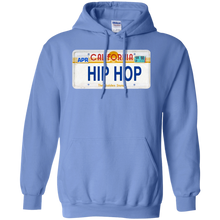 CALIFORNIA HIP HOP LICENSE PLATE VINTAGE Pullover Hoodie 8 oz.