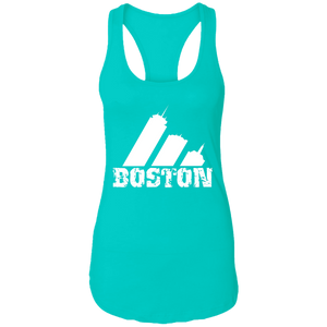EDO. G (Boston) Ladies Ideal Racerback Tank