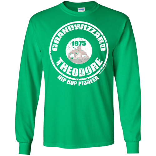 GRANDWIZZARD THEODORE PIONEER (Rapamania Collection) Long sleeve T-Shirt