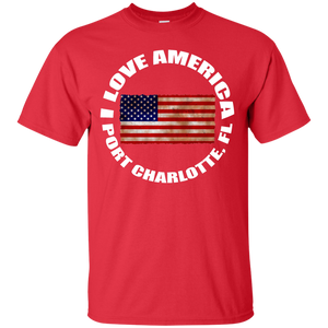 I LOVE AMERICA PORT CHARLOTTE, FL T-Shirt