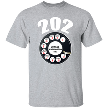 VINTAGE WASHINGTON D.C. (202) T-Shirt