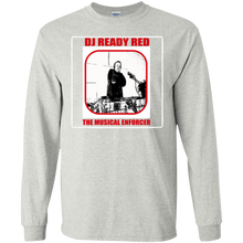 DJ READY RED THE MUSICAL ENFORCER(Rapamania Collection) T-Shirt Long sleeve T-Shirt