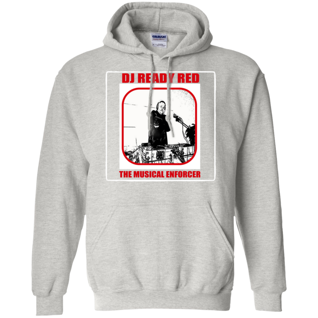 DJ READY RED THE MUSICAL ENFORCER(Rapamania Collection) T-Shirt Hoodie 8 oz.