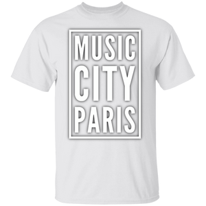 MUSIC CITY Paris. T-Shirt
