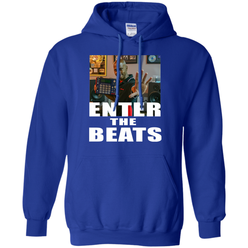 ENTER THE BEATS Pullover Hoodie 8 oz.
