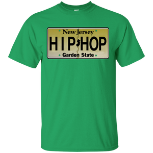 NEW JERSEY HIP HOP LICENSE PLATE VINTAGE T-Shirt