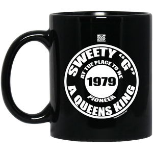 "SWEETY ""G"" oz. Black Mug"