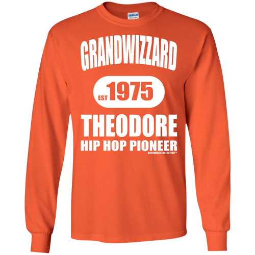 GRANDWIZZARD THEODORE (Rapamania Collection) Long sleeve T-Shirt