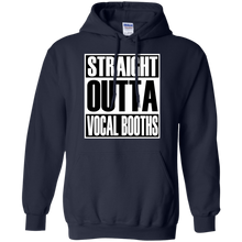 STRAIGHT OUTTA VOCAL BOOTHS Pullover Hoodie 8 oz.
