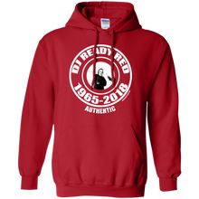 DJ READY RED 1965-2018 AUTHENTIC (Rapamania Collection) Hoodie 8 oz.