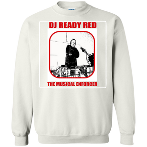 DJ READY RED THE MUSICAL ENFORCER(Rapamania Collection) T-Shirt Sweatshirt  8 oz.