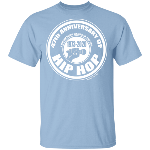 47th ANNIVERSARY OF HIP HOP (Rapamania Collection) T-Shirt