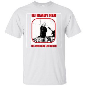 DJ READY RED THE MUSICAL ENFORCER(Rapamania Collection) T-Shirt