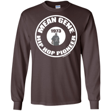 MEAN GENE HIP HOP PIONEER (Rapamania Collection) Long sleeve T-Shirt