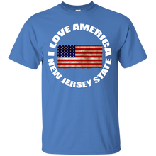 I LOVE AMERICA (NEW JERSEY STATE) T-Shirt