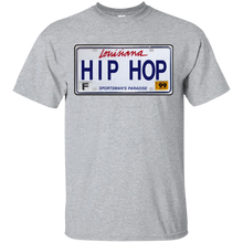 LOUISIANA HIP HOP LICENSE PLATE VINTAGE T-Shirt