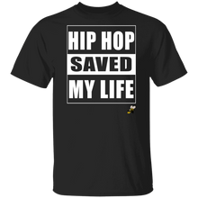 HIP HOP SAVED MY LIFE (Busy Bee Collection) oz. T-Shirt