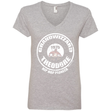 GRANDWIZZARD THEODORE PIONEER (Rapamania Collection) Ladies' V-Neck T-Shirt