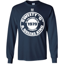 "SWEETY ""G"" A QUEENS KING PIONEER (Rapamania Collection) Long Sleeve T - Shirt"