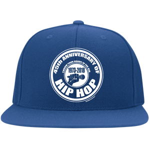 45th ANNIVERSARY OF HOP HOP (Rapamania Collection) Fitted Hat