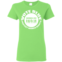 VOTE BLUE Ladies' 5.3 oz. T-Shirt