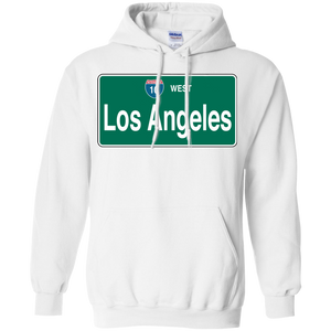10 WEST LOS ANGELES  Pullover Hoodie 8 oz.