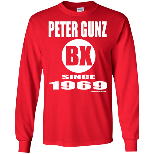 PETER GUNZ BX SINCE 1969 (Rapamania Collection) Long sleeve T-Shirt