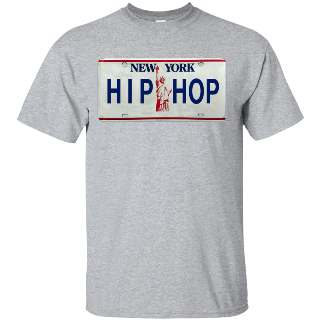 NEW YORK HIP HOP LICENSE PLATE VINTAGE T-Shirt