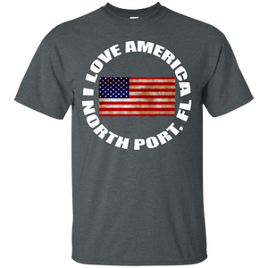 I LOVE AMERICA (NORTH PORT, FL) T-Shirt