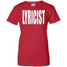 LYRICIST Ladies' 100% Cotton T-Shirt