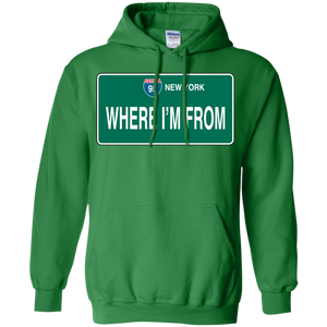 WHERE I'M FROM Pullover Hoodie 8 oz.