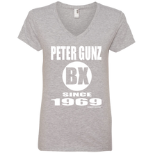 PETER GUNZ BX SINCE 1969 (Rapamania Collection) Ladies' V-Neck T-Shirt