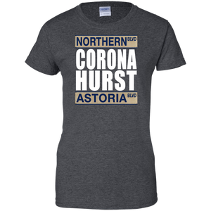 CORONA HURST Ladies' 100% Cotton T-Shirt