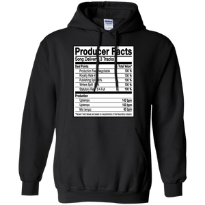 PRODUCER FACTS Pullover Hoodie 8 oz.